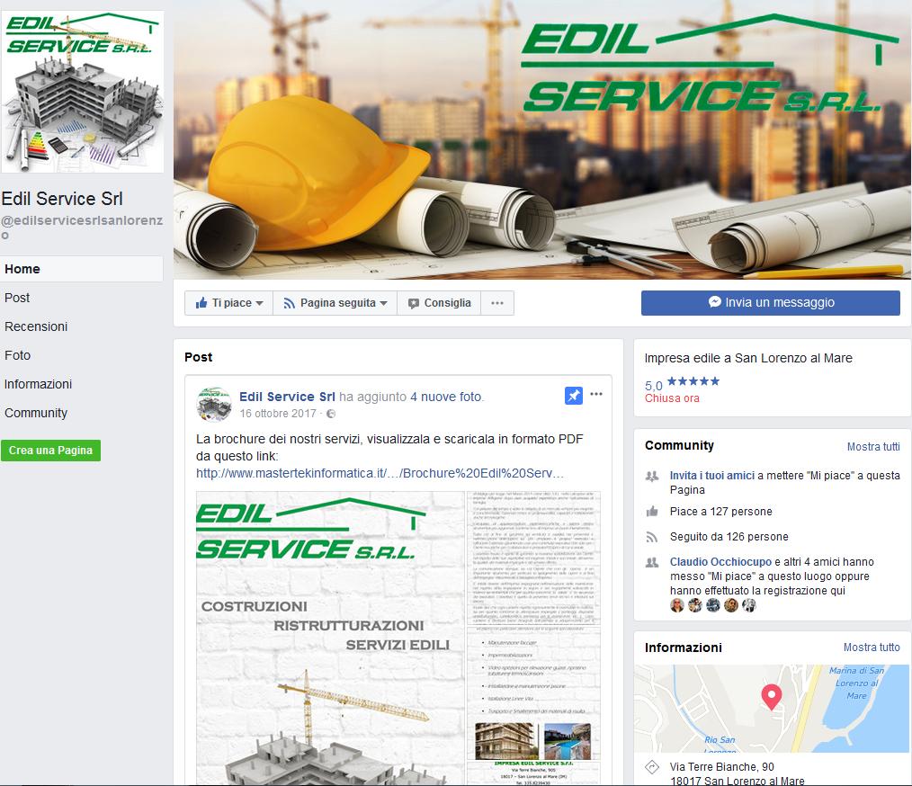 Edil Service - Pagina Facebook